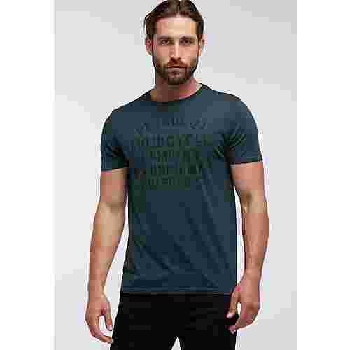 Petrol Industries Printshirt Herren Night Green