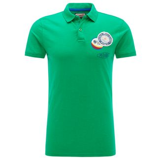 Petrol Industries Poloshirt Herren Grass Green