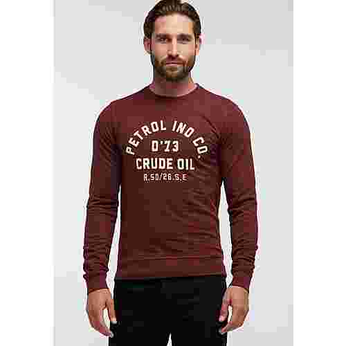 Petrol Industries Sweatshirt Herren Burgundy