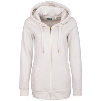 MYMO Sweatjacke Damen wollweiss