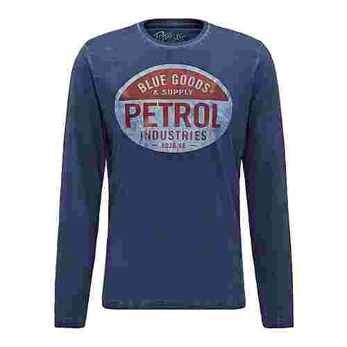 Petrol Industries Langarmshirt Herren Deep Navy