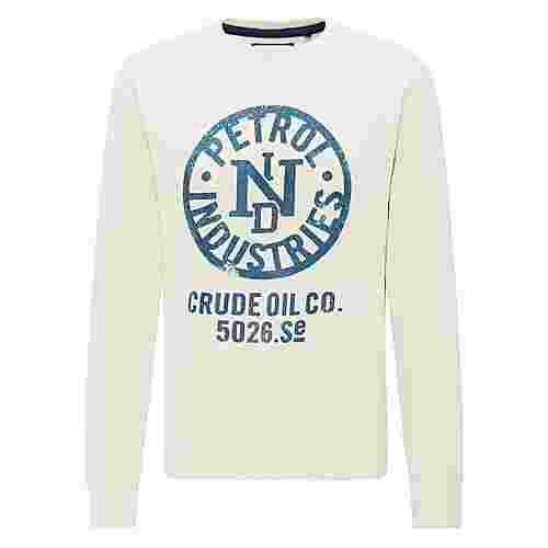 Petrol Industries Sweatshirt Herren Antique White Melee