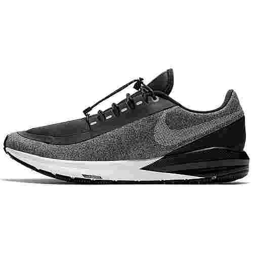 Nike Zoom Structure Shield Laufschuhe Herren black-metallic-silver-cool-grey-vast-grey