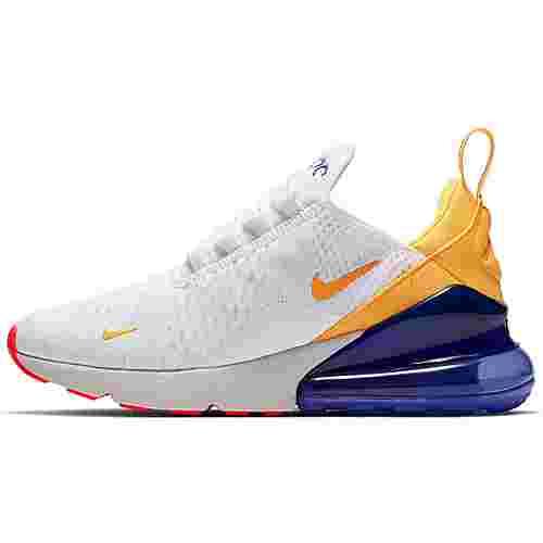 Nike Air Max 270 Sneaker Damen white-laser orange-hyper violet