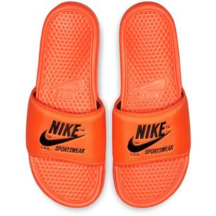 Nike Slide Benassi JDI TXT SE Badelatschen Herren total orange-black-total orange