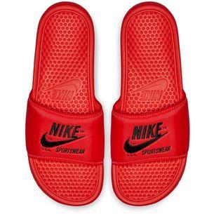 Nike Slide Benassi JDI TXT SE Badelatschen Herren bright crimson-black