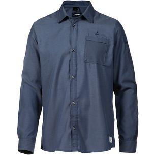 Schöffel Christchurch1 Langarmhemd Herren dress blues