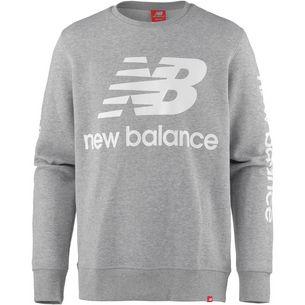 NEW BALANCE Sweatshirt Herren athletic grey