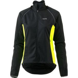 GORE® WEAR C3 Gore Windstopper Phantom Jacket Fahrradjacke Damen black/neon yellow
