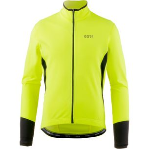 GORE® WEAR C5 Thermo Jersey Fahrradtrikot Herren neon yellow/black