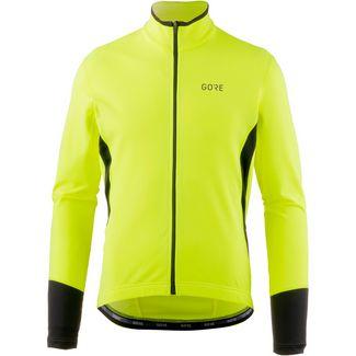 GORE® WEAR C5 Thermo Trikot Fahrradtrikot Herren neon yellow-black