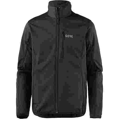 GORE® WEAR C3 Gore Windstopper Thermo Jacket Funktionsjacke Herren black