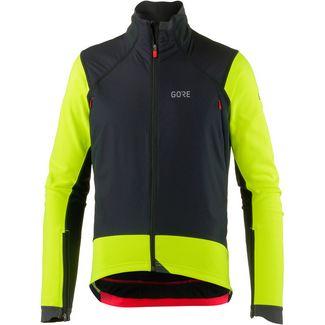 GORE® WEAR C7 Gore Windstopper Pro Jacket Funktionsjacke Herren black/neon yellow