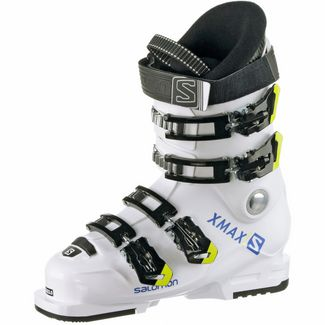 Salomon ALP. BOOTS X Max 60T L Skischuhe Kinder White/Raceblue/Acid