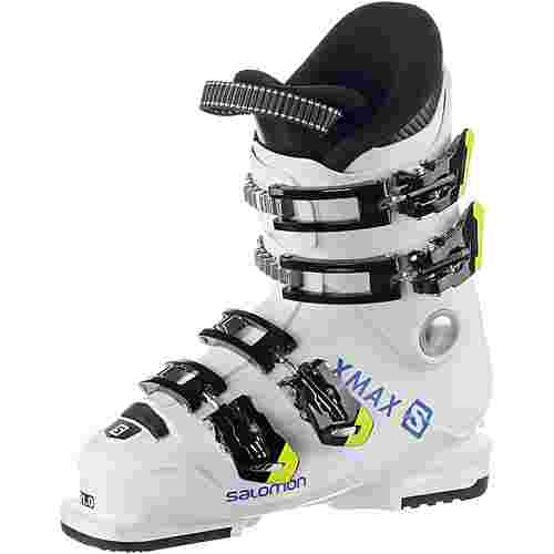 Salomon ALP. BOOTS X Max 60T M Skischuhe Kinder White/Raceblue/Acid
