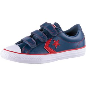 CONVERSE Star Player Sneaker Kinder mason blue-enamel red-white