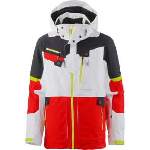 Spyder Todrillo Skijacke Herren white-volcano-black