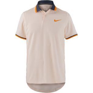 Nike NY Dimitrov Advantage Polo Classic Tennis Polo Herren guava ice