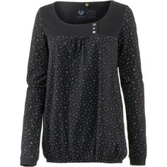 Ragwear Brazil Langarmshirt Damen black