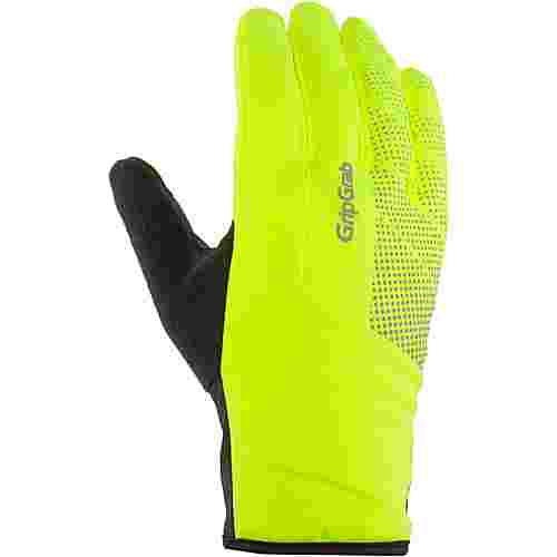 GripGrab Ride Waterproof Hi-Vis Thermal Fahrradhandschuhe fluo yellow