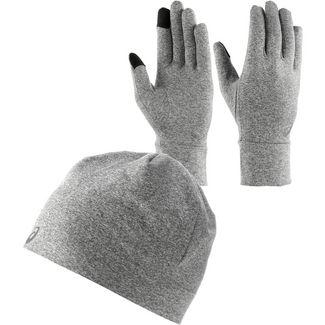 ASICS Essential Set Mütze und Handschuhe Herren carbon