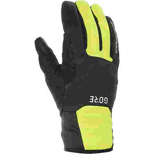 GORE® WEAR M Gore Windstopper Thermo GORE-TEX® Fahrradhandschuhe black/neon yellow