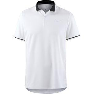 Nike Advantage Polo Classic Tennis Polo Herren white