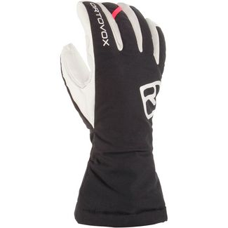 ORTOVOX Swisswool Freeride Outdoorhandschuhe Damen black raven