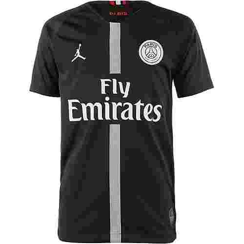 Nike Paris Saint-Germain 18/19 Jordan Fußballtrikot Kinder black-white