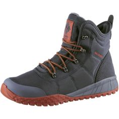 Columbia Fairbanks Omni-Heat Winterschuhe Herren graphite-dark adobe