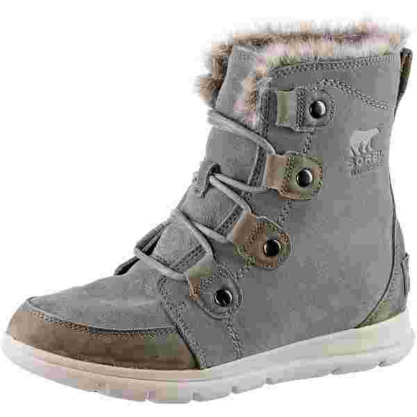 Sorel Explorer Joan Winterschuhe Damen quarry-black