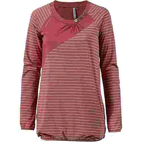 Ragwear Linny A Langarmshirt Damen dusty red