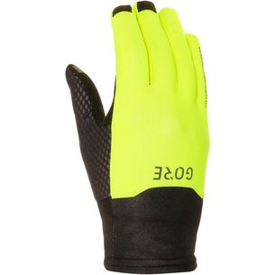 GORE® WEAR WINDSTOPPER® Fingerhandschuhe Herren black-neon-yellow