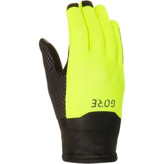GORE® WEAR WINDSTOPPER® GORE-TEX® Fingerhandschuhe Herren black-neon-yellow
