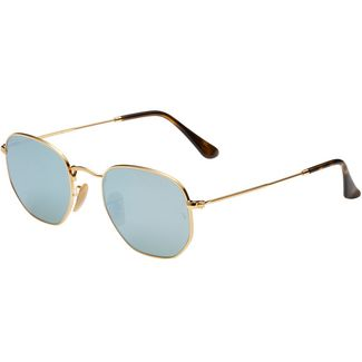 RAY-BAN Hexagonal 0RB3548N Sonnenbrille gold