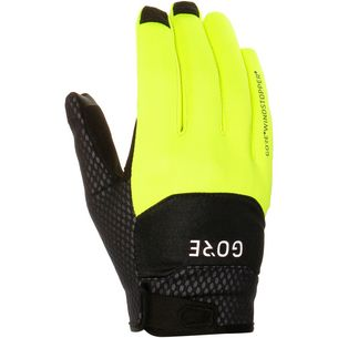 GORE® WEAR C5 Gore Windstopper Gloves Fahrradhandschuhe black/neon yellow