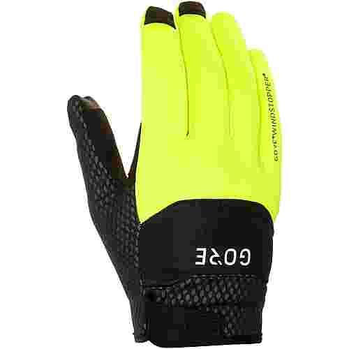GORE® WEAR C5 Gore Windstopper GORE-TEX® Fahrradhandschuhe black/neon yellow