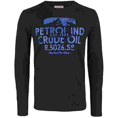 Petrol Industries Langarmshirt Herren Black