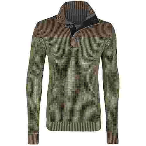 Petrol Industries Strickpullover Herren Dark Forest