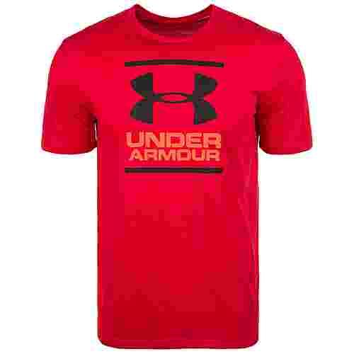 Under Armour HeatGear GL Foundation Funktionsshirt Herren rot