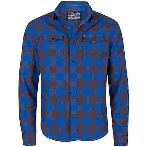 Petrol Industries Langarmhemd Herren Imperial Blue