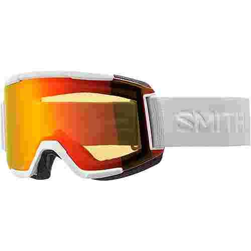 Smith Optics SQUAD; Everyday Red Mirror, Std Yellow Skibrille White Vapor