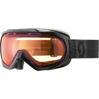 SCOTT Notice OTG Illuminator red chrome Skibrille black