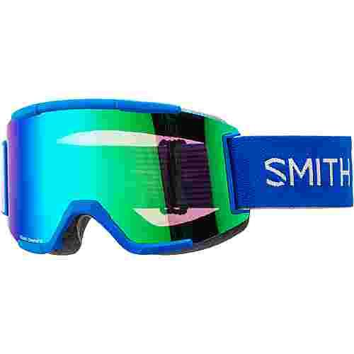 Smith Optics SQUAD; Sun Green Mirror, Std Yellow Skibrille IMPERIAL BLU