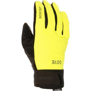 GORE® WEAR C5 Gore-Tex Thermo Gloves Fahrradhandschuhe neon yellow/black