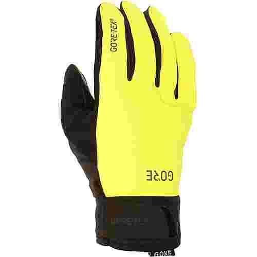 GORE® WEAR C5 Thermo Gloves GORE-TEX® Fahrradhandschuhe neon yellow/black