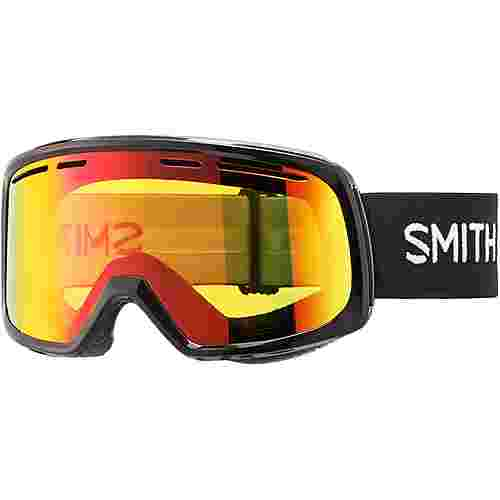 Smith Optics RANGE; Red Sol-X Mirror Skibrille Black
