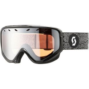 SCOTT Lura enh. silver chrome Skibrille black/white