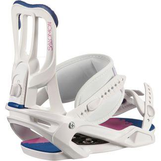 Salomon Spell Snowboardbindung Damen white