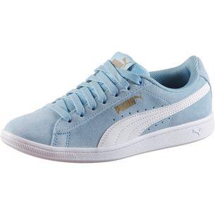 PUMA Sneaker Kinder cerulean-puma white-metallic gold
